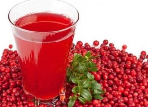 Сок из ягод брусники полезен для сердца