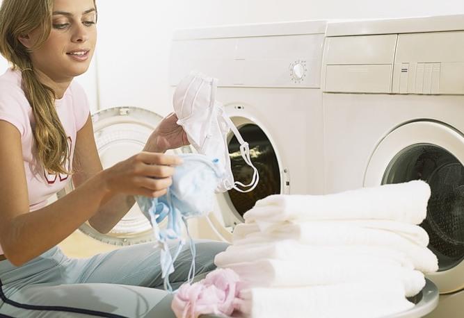 Чтобы погибли микробы, стирать нужно тщательнее