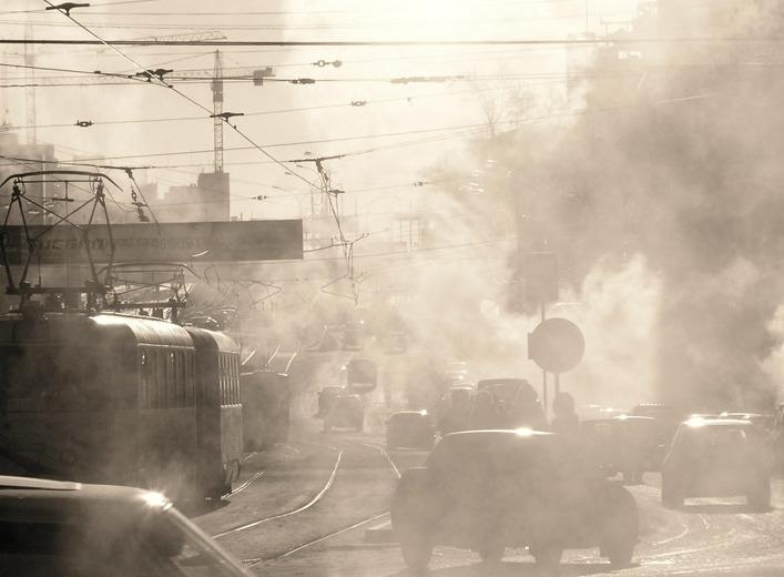 Загрязненный воздух провоцирует рак