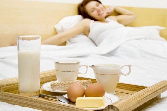 Плотный завтрак увеличивает шансы на беременность