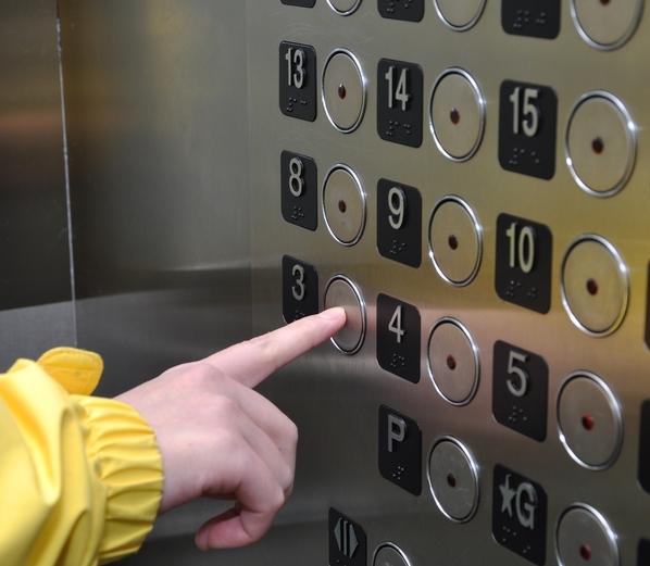 Будьте осторожны в лифтах – бактерии не спят