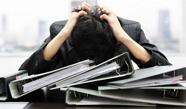 Работа всостоянии стресса вызывает умужчин рак— специалисты